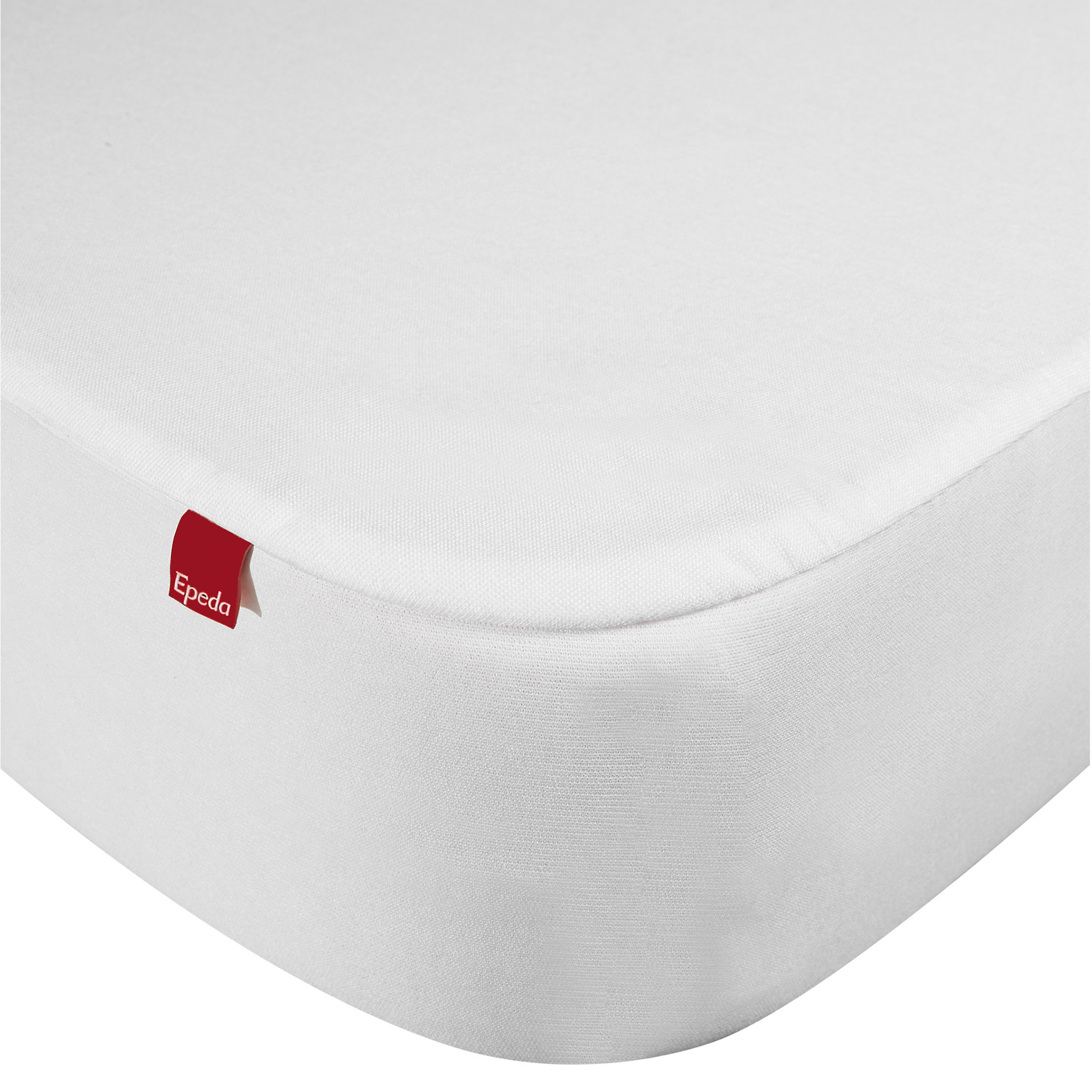 Drap housse Epeda 2 en 1 blanc