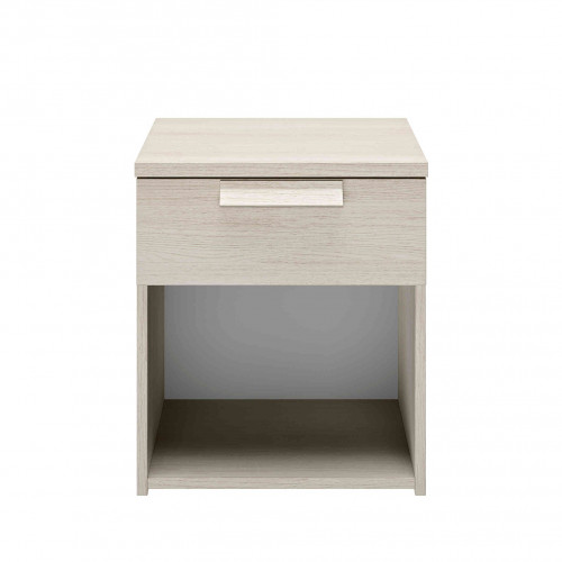 Chevet 1 tiroir en imitation bois clair - CH5028
