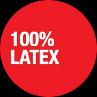 100% latex