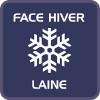 face hiver laine