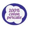 Coton percale