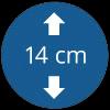 14 cm