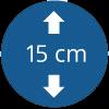 15 cm