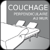 couchage perpendiculaire