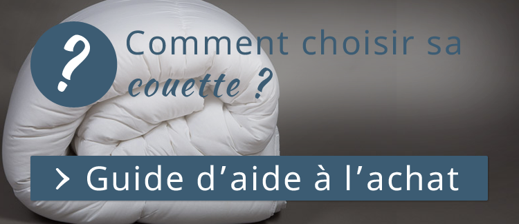 guide d'aide couette