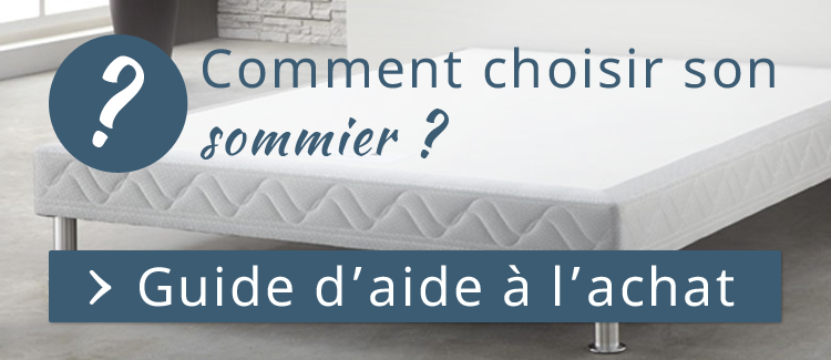 Guide d'aide Sommier