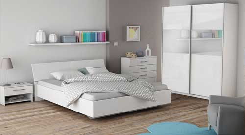 chambre adulte compl te en livraison gratuite. Black Bedroom Furniture Sets. Home Design Ideas