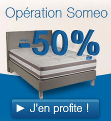 Promotions Literie SOMEO